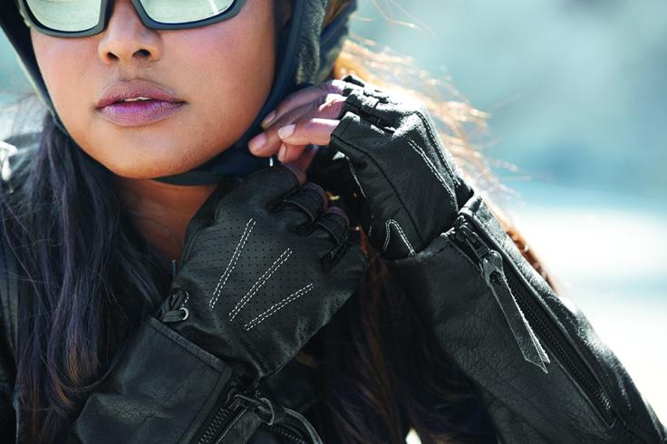 Harley-Davidson Fingerless Gloves