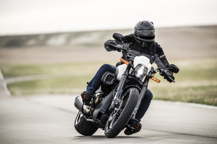 The Harley Davidson FXDR 114 in Action